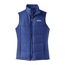 Ladies Port Authority Puffy Vest