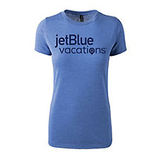 Ladies Tri-Blend Short Sleeve T-Shirt - JetBlue Vacations