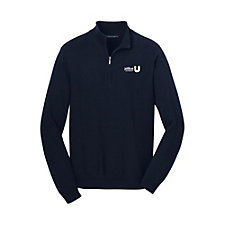 Port Authority Half-Zip Sweater - JBU