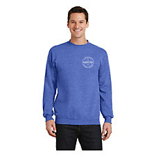 Port & Company Core Fleece Crewneck Sweatshirt - JetBlue Marketing