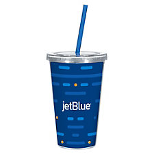 Double Wall Acrylic Tumbler - 16 oz. (1PC)