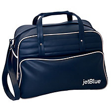 Retro Leatherette Travel Bag - 18.5 x 12.25 x 9.5 (1PC)