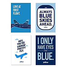 Crew Lounge Posters (Set of 4)