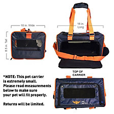 Small JetPaws Pet Carrier - 16 in. L x 8.5 in. H x 10 in. W (1PC)