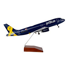 A320 Vets in Blue Livery Model Plane - 1:100 (1PC)