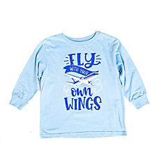 Fly With Your Own Wings Toddler Long Sleeve Shirt (1PC)