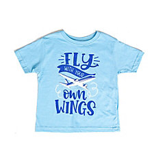 Fly With Your Own Wings Toddler Short Sleeve Shirt (1PC)