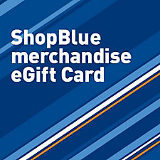 ShopBlue eGift Card - For Branded Merchandise Only, Not Valid for Flights