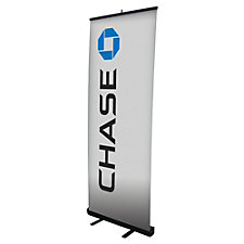 Economy Metal Retractor Banner Display Kit - Chase