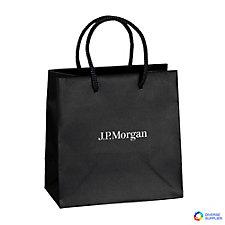 Dublin Matte EuroTote Bag - 6.5 in. W x 3.5 in. D x 6.5 in. H - J.P. Morgan