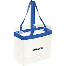 Game Day Stadium Tote - 12 in. x 12 in. - Chase