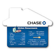 House Shaped Measurements Magnet - Chase