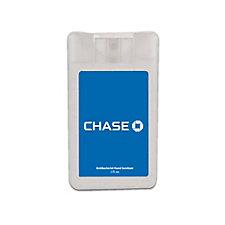 Credit Card Hand Sanitizer Sprayer - Chase