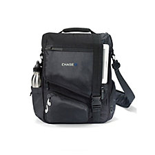 Life in Motion Computer Messenger Bag - 16 in. W x 13 in. H - Chase