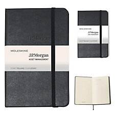 Moleskine Hard Cover Ruled Notebook - 3.5 in. x 5.5 in. - JPMAM