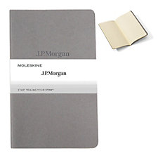 Moleskine Cahier Ruled Notebook - 5 in. x 8.25 in. - J.P. Morgan