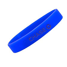Silicone Bracelet - 8 in. x .5 in. - Chase