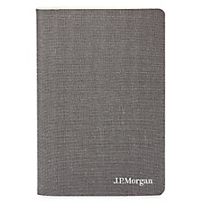 Linen Soft Cover Journal - 5.5 in. x 8 in. - J.P. Morgan