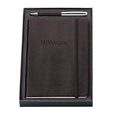 Fabrizio Journal and Pen Set - J.P. Morgan