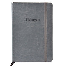 Fabrizio Hard Cover Journal - 5.5 in. x 8.25 in. - J.P. Morgan
