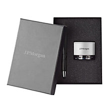 Stylus Pen & Bluetooth Speaker Set - J.P. Morgan