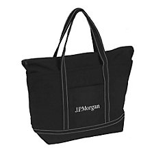 Rock the Boat Tote - 20 in. x 12.5 in. x 7.5 in. - J.P. Morgan