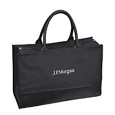 Mercantile Tote - 18 in. x 12 in. x 7 in. - J.P. Morgan