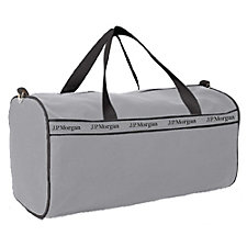 Square End Duffel Bag - 21 in. x 10.5 in. x 10.5 in. - J.P. Morgan