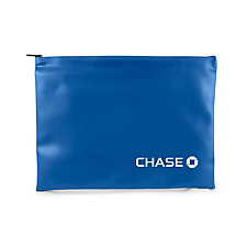 Document Bank Bag - 13 in. W x 10 in. H - Chase