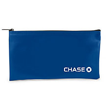 Deposit Bank Bag - 11 in. W x 6 in. H - Chase