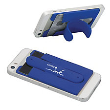 Silicone Phone Wallet Stand - Ink