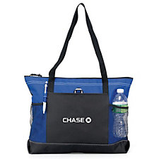 Select Zippered Tote - Chase