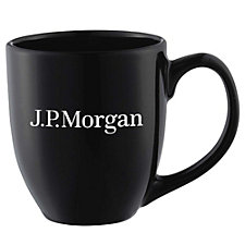Zapata Ceramic Mug - 15 oz. - J.P. Morgan