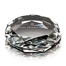 Crystal Gem Paperweight Award - 3 in. x 3.875 in. - CPC