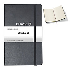 Moleskine Hard Cover Notebook - 5 in. x 8.25 in. - Chase