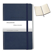 Moleskine Hard Cover Notebook - 5 in. x 8.25 in. - JPMC