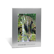 Silver Acclaim Photo Frame - 5 in. x 7 in. - CFB