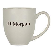 Kona Joe Ceramic Mug - 16 oz. - J.P. Morgan