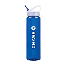 Bottle with Flip Straw Lid - 32 oz. - Chase