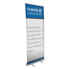 Economy Retractor Banner Display Kit - CFB