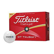 Titleist DT Trusoft Golf Balls - Dozen - Chase