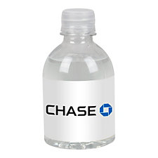 Standard Label Bottled Water - 8 oz. - 24 Pack - Chase