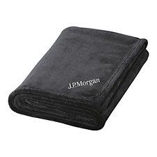 Micro Plush Blanket - J.P. Morgan