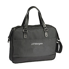 Chelsea Briefcase - 14 in. x 2.75 in. x 10.75. in. - J.P. Morgan