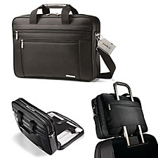 Samsonite Classic Business Computer Portfolio and Luggage Tag - Chase