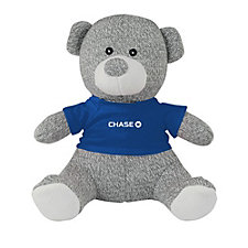 Knit Teddy Bear with T-Shirt - 8 in. - Chase