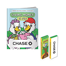 Saving Money is Fun Coloring Book Kit - Chase