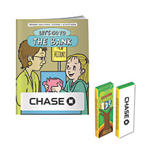 Lets Go To The Bank Coloring Book Kit - Chase