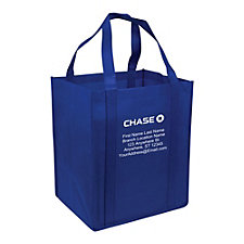 Big Storm Reusable Tote Bag - 13 in. x 10 in. x 15 in. - Personalized