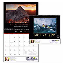Motivations Wall Calendar - Chase